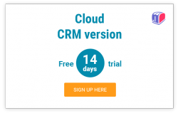 CRM sign-up
