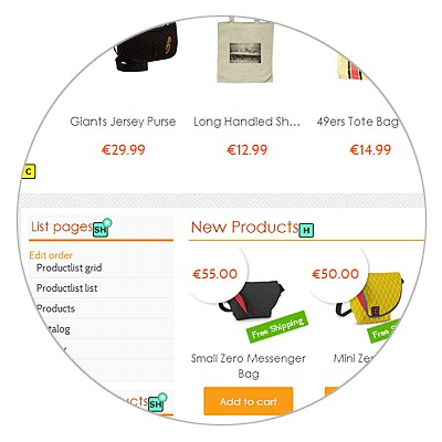 point click to manage online stores