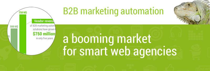 B2B marketing automation, a booming market for smart web agencies