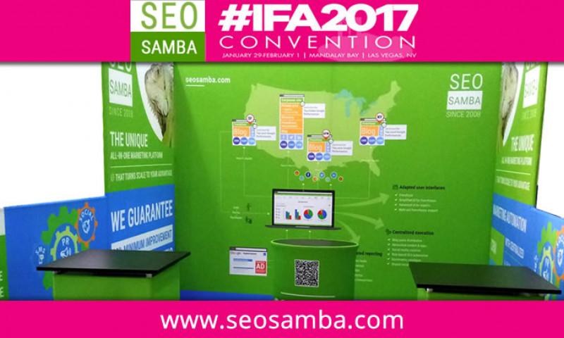 Franchise Marketing Software SeoSamba to Exhibit at International Franchise Association Show #IFA2017 in Las Vegas