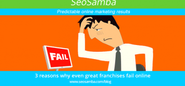 3 reasons why even great franchises fail online