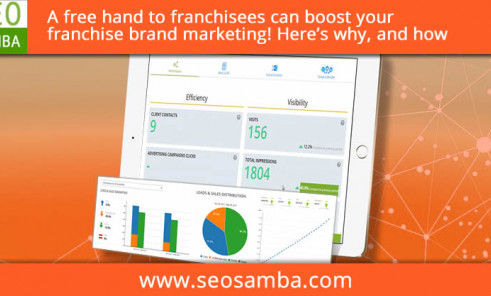 A free hand to franchisees can boost your franchise brand marketing! Here's why and how