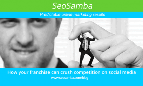 How franchise brands crush competition on social media