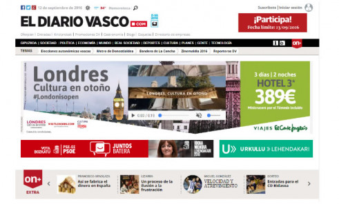 Leading Spanish Basque Newspaper El Diario Vasco Launches Digital Marketing Solution for Local Small Businesses with SeoSamba