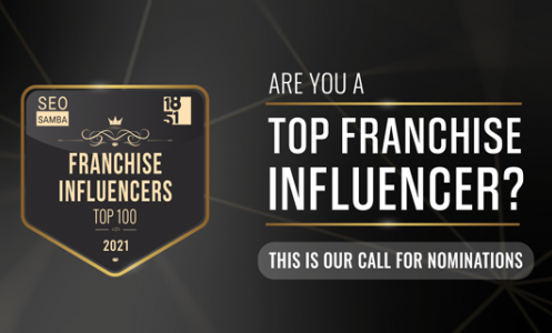 Top Franchise Influencers Award