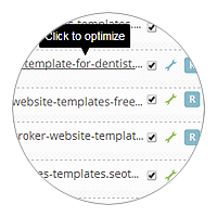 Multi-sites SEO automation