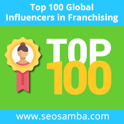 Franchise Marketing: SeoSamba reveals the top 100 influencers who rule the franchise world