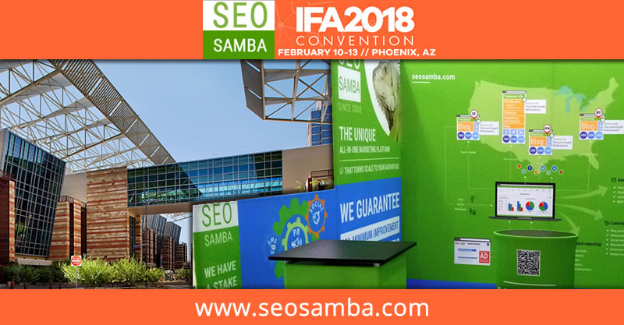 SeoSamba announces participation to the International Franchise Association #IFA2018 convention