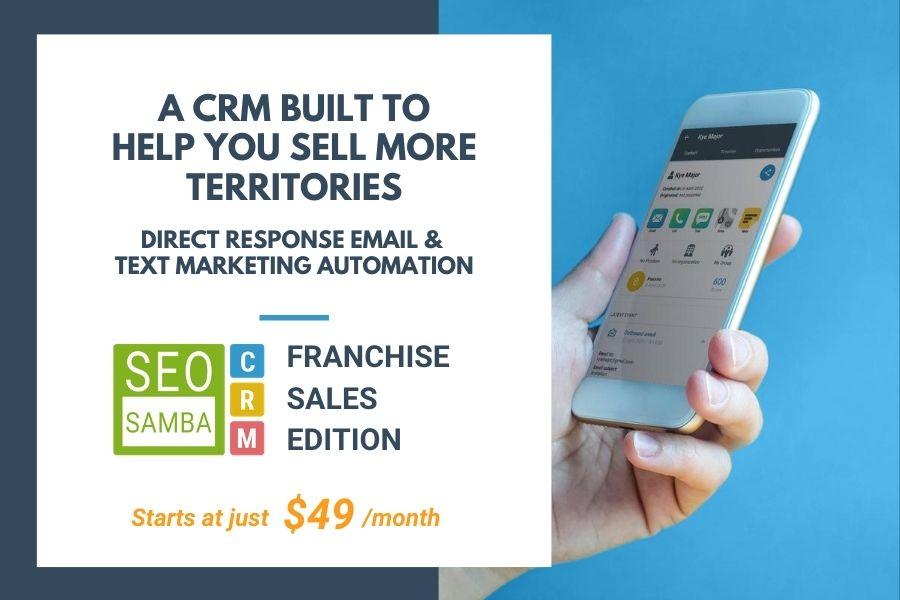 SeoSamba Launches Disruptive Franchise Sales CRM