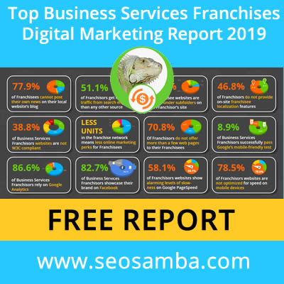 SeoSamba releases Top Business Services Franchises Digital Marketing  Report 2019